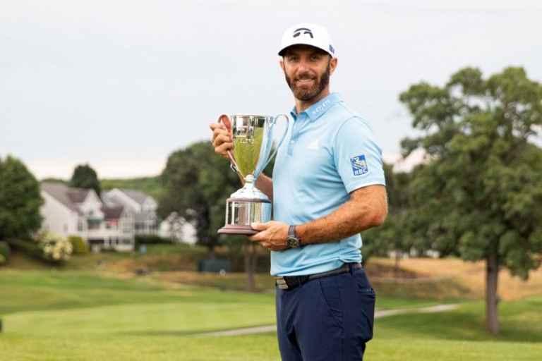 Dustin Johnson wins Travelers Championship