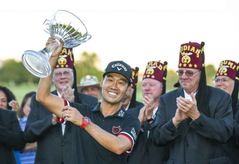 Kevin Na wins the Shriners Open on home soil