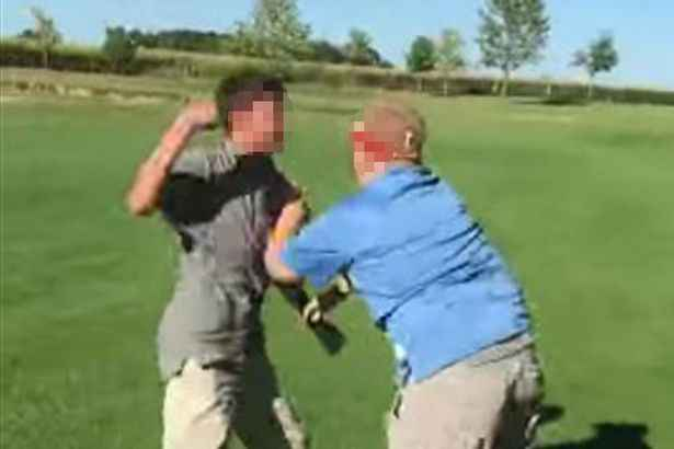 Kids FIGHT on golf course over rules breach