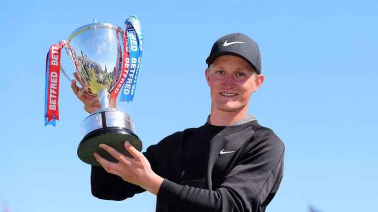 Marcus Kinhult wins British Masters at Hillside