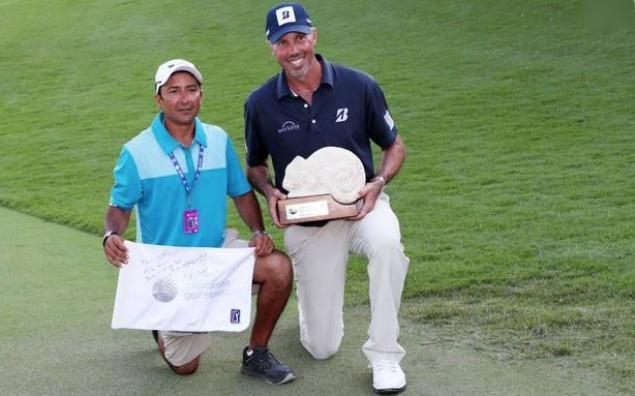 Matt Kuchar denies rumour he paid stand-in caddie $3k for PGA Tour win
