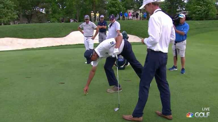 Matt Kuchar at centre of more CONTROVERSY, this time over a pitch mark