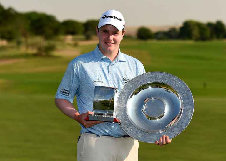 Robert MacIntyre pipped fellow TaylorMade players to the Rookie of the Year award.