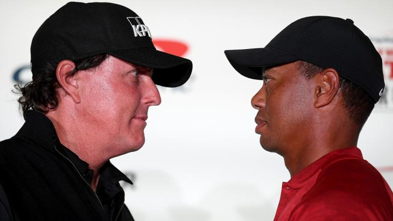 Tiger Woods and Phil Mickelson make $200k bet Phil will birdie the first hole of 'The Match'
