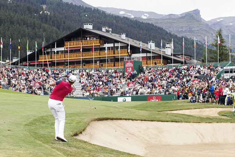 Omega European Masters round one groups and tee times