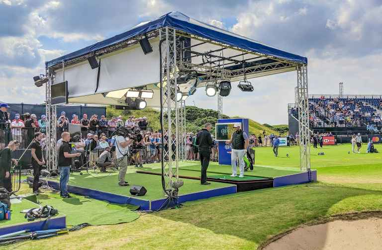 Zen Green Stage scores Sky Sports hat-trick at Royal Portrush