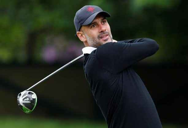 Pep Guardiola says he'd rather play golf than manage Manchester United