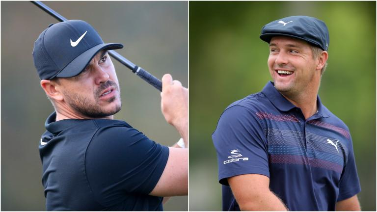 """Brooks Koepka """"not worried"""" about Bryson DeChambeau at The Masters"""