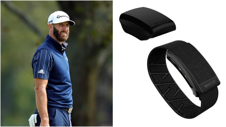 Dustin Johnson reveals why he's stopped wearing a WHOOP strap