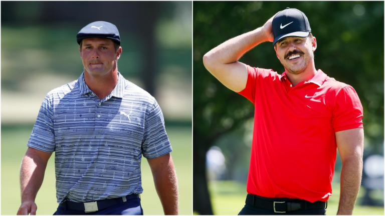 Did Brooks Koepka just suggest that Bryson DeChambeau is on steroids?