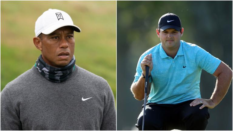 Golf fans react to joke about Tiger Woods and Patrick Reed