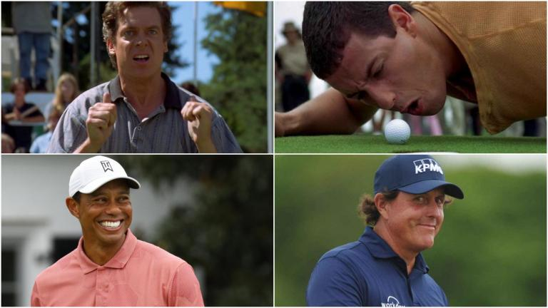 Shooter McGavin challenges Tiger Woods, Happy Gilmore and Phil Mickelson