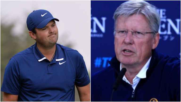 R&A chief defends Patrick Reed's Hero World Challenge bunker incident