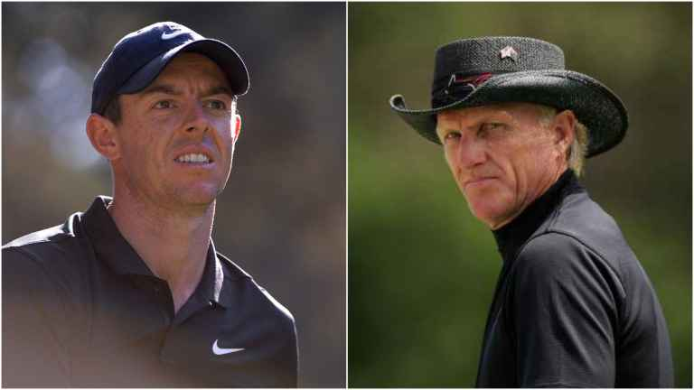 Greg Norman unhappy with Rory McIlroy's Premier Golf League decision