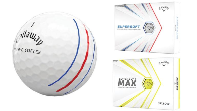 Callaway Golf introduces new ERC Soft, Supersoft and Supsersoft Max golf balls