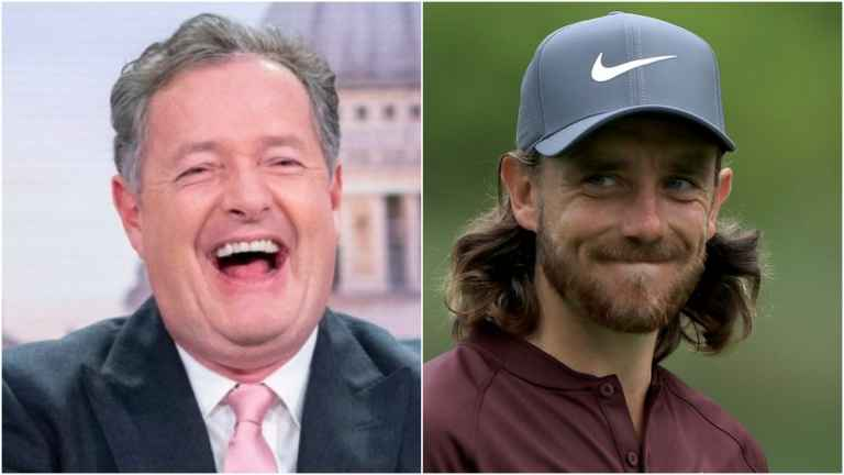 "Piers Morgan: ""I carried Tommy Fleetwood"" to early Paddy Power win"