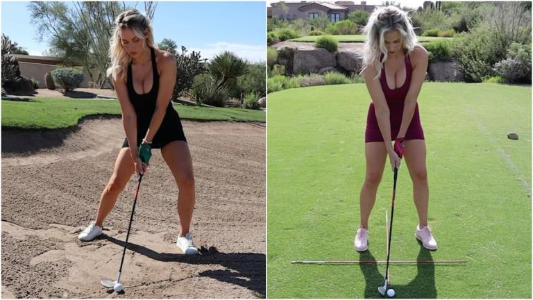 Quickies with Paige Spiranac: How to play bunker shots and punch shots