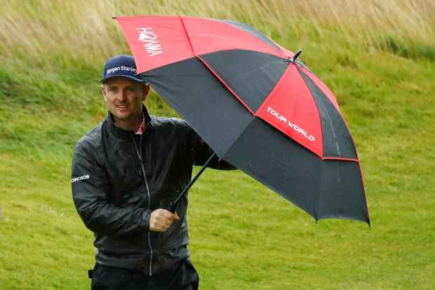 The Open: bad weather to cause havoc on Sunday afternoon
