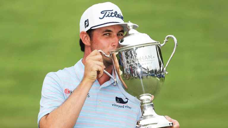 J.T Poston wins Wyndham Championship - what's in the bag