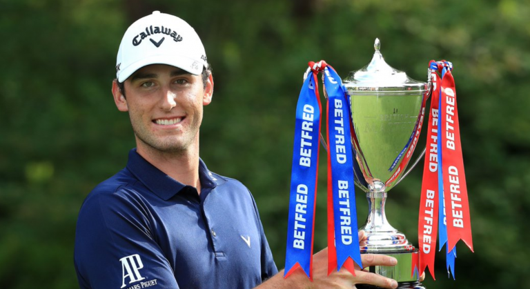 Renato Paratore proves you can play golf fast, and still play great