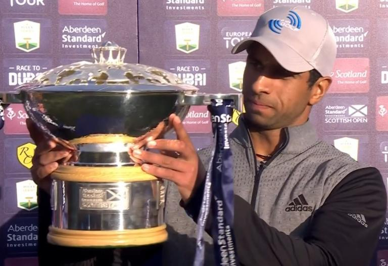 Aaron Rai defeats Tommy Fleetwood in playoff to win Scottish Open