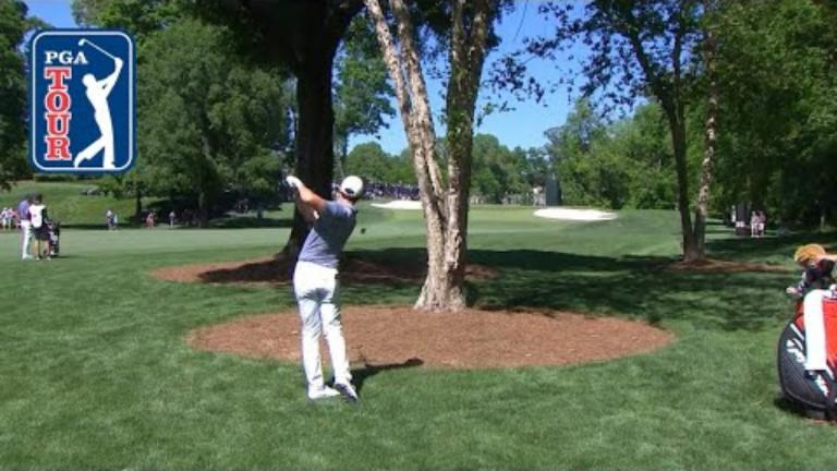 WATCH: Rory McIlroy hits shot of the year, then misses the putt...