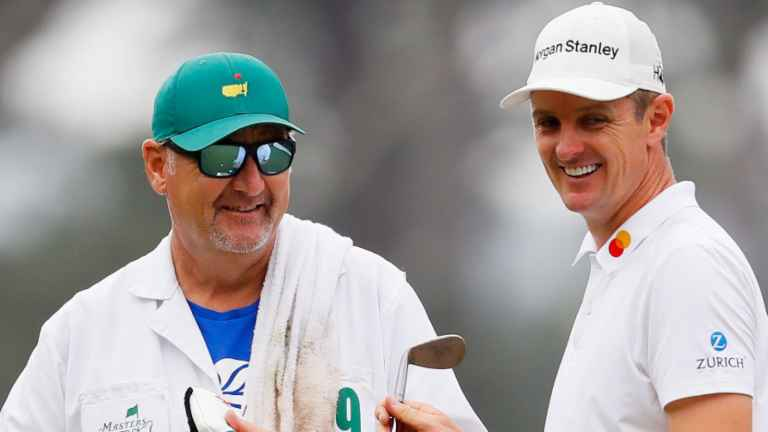 Justin Rose confirms caddie Mark Fulcher stepping down from his bag