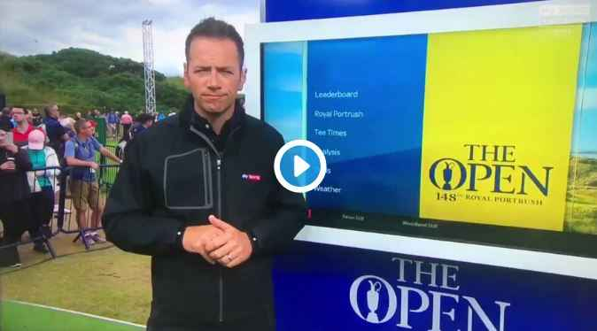 Hilarious Tiger Woods impression at the Open by Conor Sketches