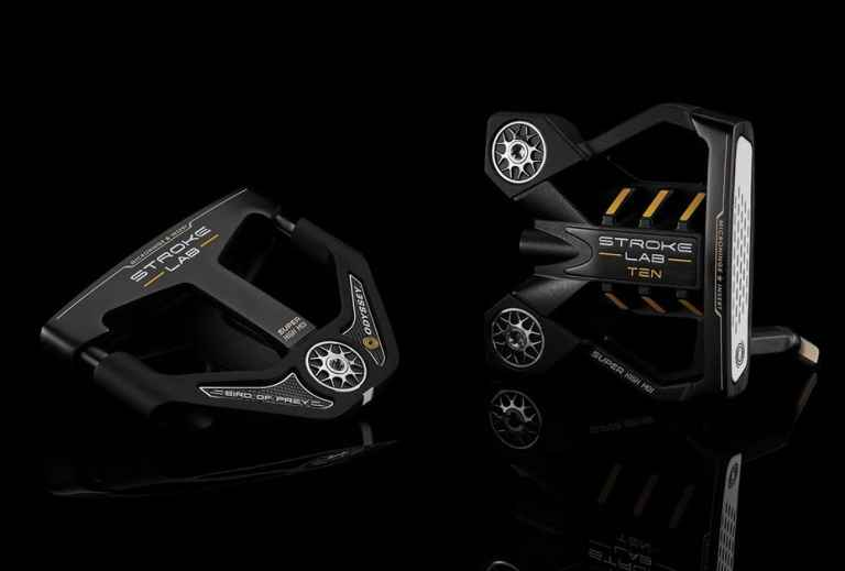 Odyssey Stroke Lab Black Ten and Bird of Prey Putters - FIRST LOOK!
