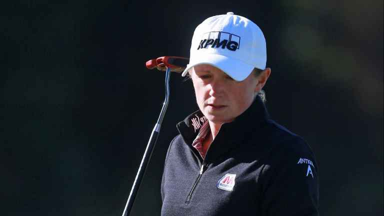 Stacy Lewis OUT of Solheim Cup due to injury