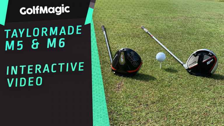 INTERACTIVE VIDEO! TaylorMade M5 and M6 Drivers Review