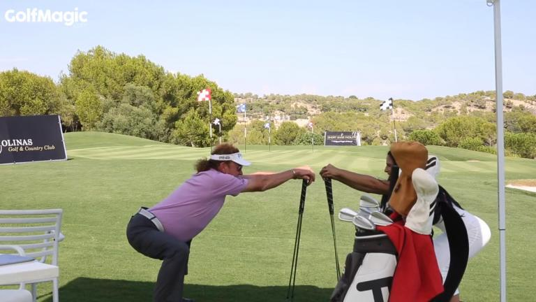 We bet you can't stretch like Miguel Angel Jimenez!