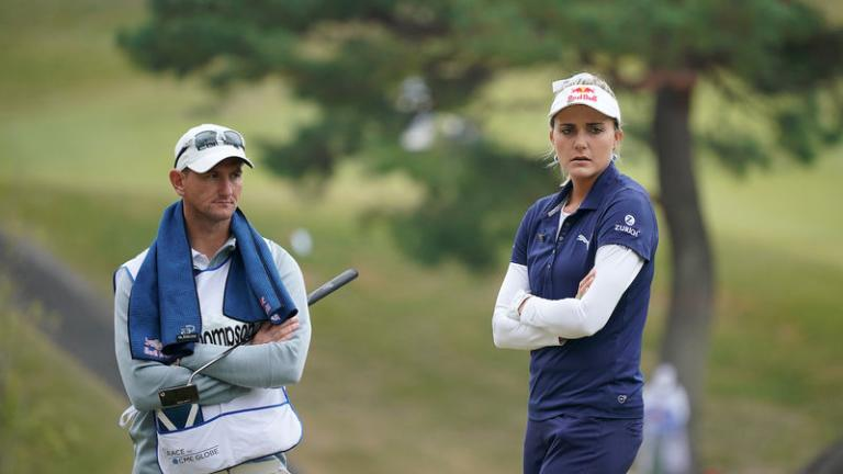 Lexi Thompson parts ways with her golf caddie Kevin McAlpine