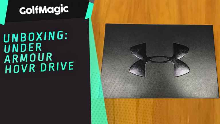 Unboxing Under Armour HOVR Drive