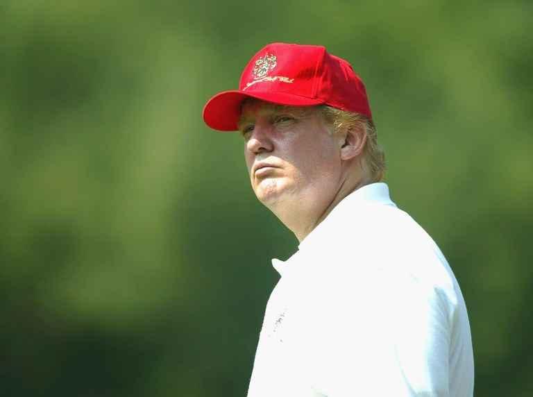 Donald Trump crashes wedding and kisses bride
