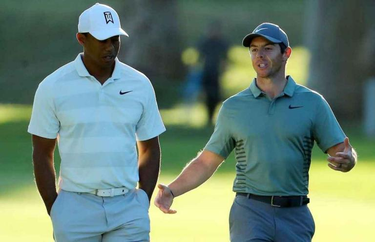 """Rory McIlroy on Tiger Woods: """"He should be back in time for The Masters"""""""