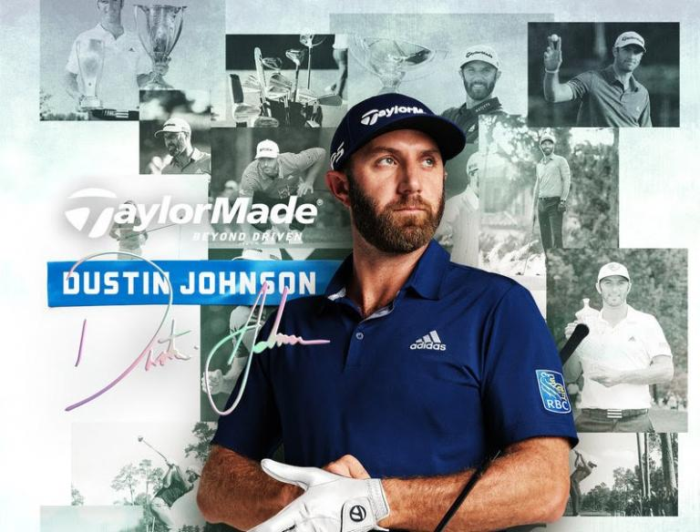 Dustin Johnson signs contract extension with TaylorMade Golf