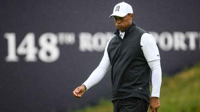 Tiger Woods to miss the cut at the Open