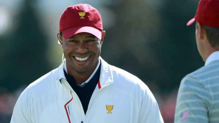 Tiger Woods selects himself as a captains pick for the Presidents Cup