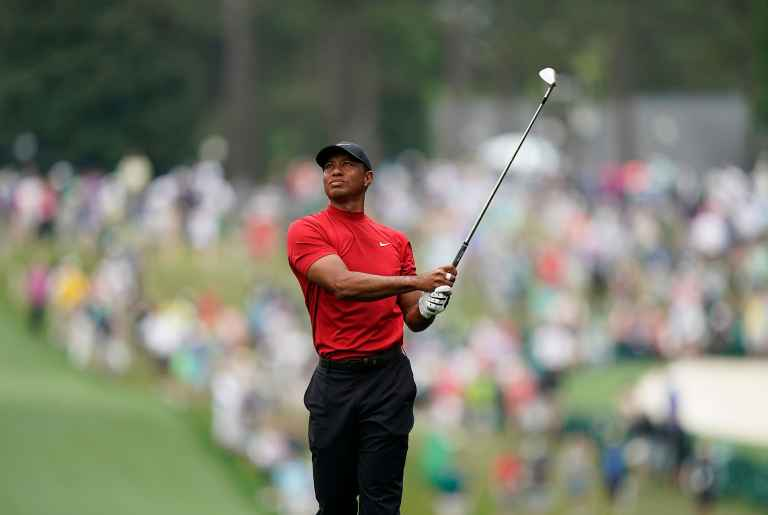 Tiger Woods explains how to hit the stinger