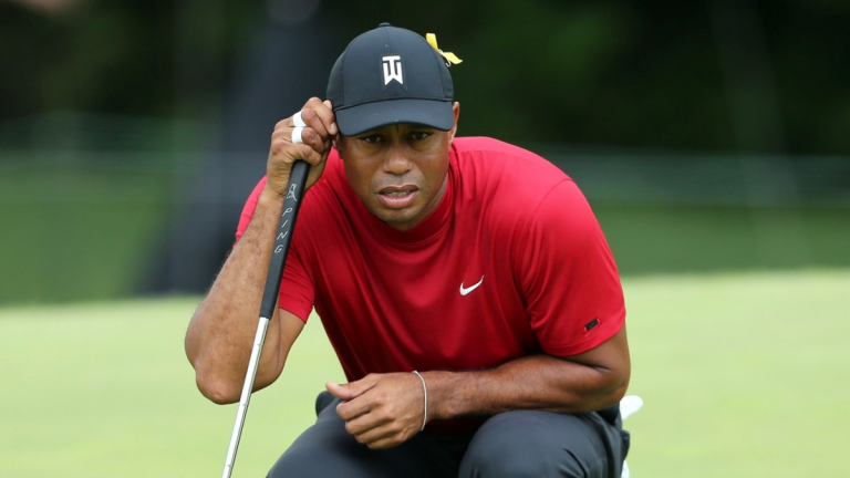 Tiger Woods eyes up Tokyo 2020 Olympics