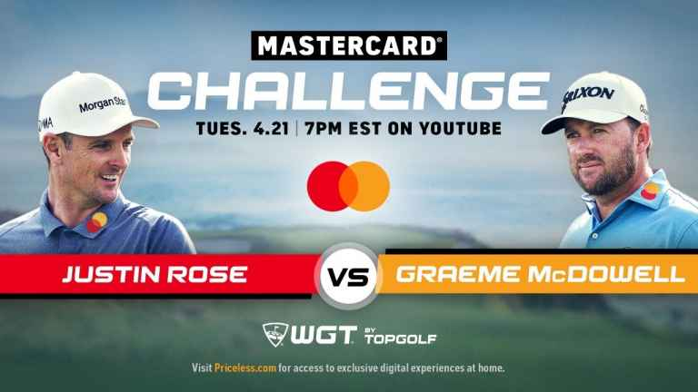 WATCH: Justin Rose vs Graeme McDowell in virtual golf match