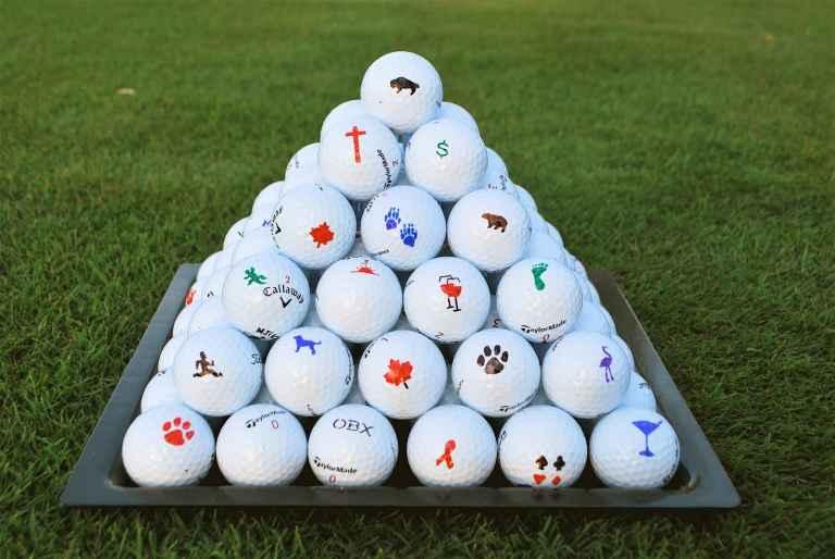 Golf Ball Marks: Do you mark your golf ball like a Tour pro?