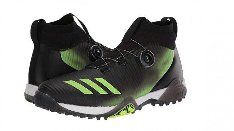 bästa erbjudanden på bra konsistens ny autentisk adidas CODECHAOS Primeknit BOA golf shoes review   GolfMagic