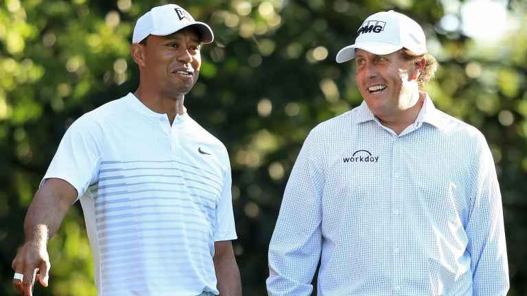 Tiger Woods v Phil Mickelson: million pay-per-view match is set