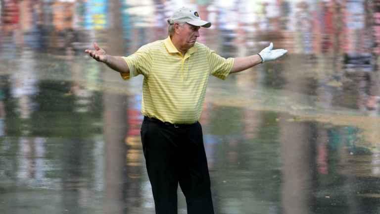 Masters: Jack Nicklaus' grandson makes ace, Tom Watson wins Par 3 Contest