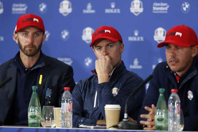 Jim Furyk confirms Dustin Johnson, Brooks Koepka Ryder Cup altercation