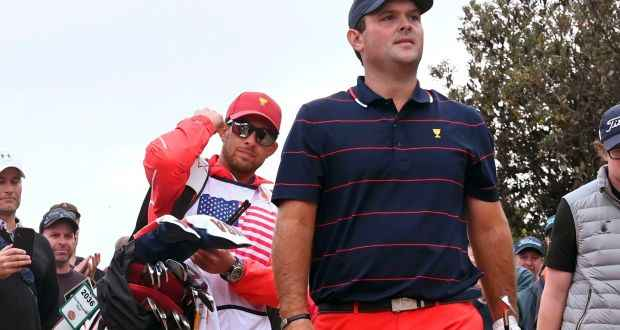 """Patrick Reed's caddie BANNED from Presidents Cup after """"shoving"""" fan!"""