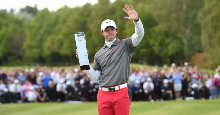 "Rory McIlroy: I had to ""drag myself off the sofa"" for the BMW PGA"