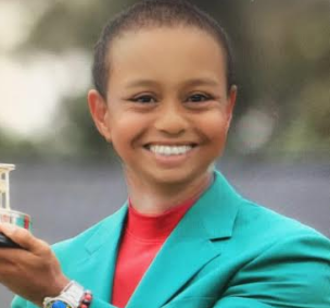 Tiger Woods, Rory McIlroy, Dustin Johnson in the Snapchat Baby Filter!